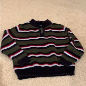 Lands End boys holiday sweater, size M, 5-6